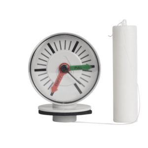 Tank Gauge to accurately monitor your rainwater supply with this easy-to-read, tank-top water level indicator
